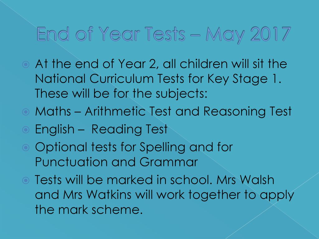 National Curriculum End of Key Stage 1 Expectations - ppt