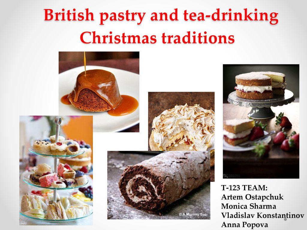 british pastry and tea drinking christmas traditions