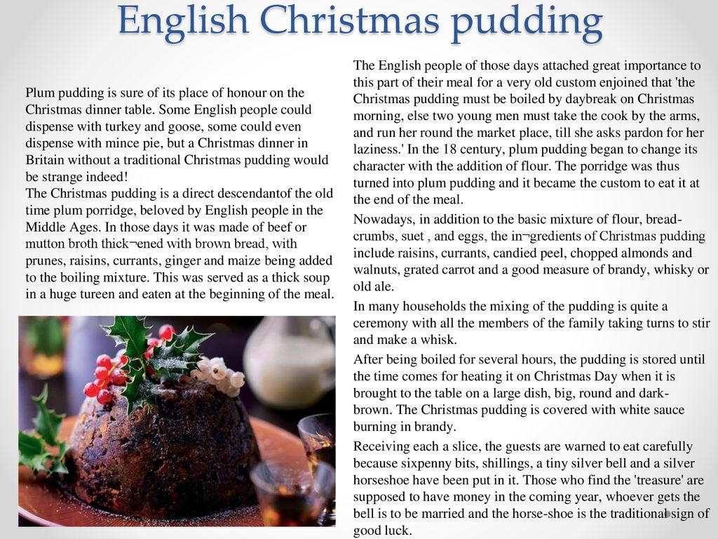 British pastry and tea-drinking Christmas traditions - ppt download