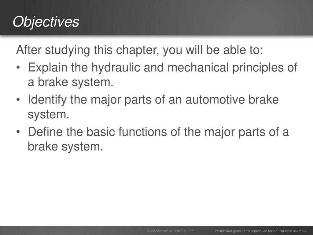 81 Chapter Brake System Technology  81 Chapter Brake System
