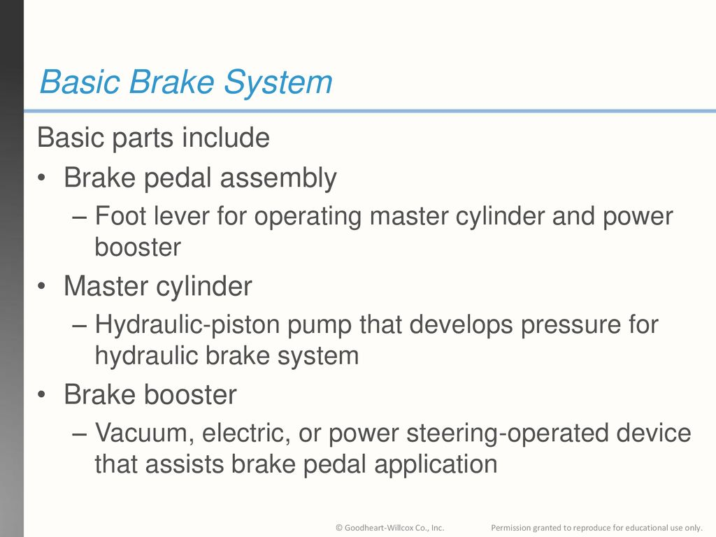 81 Chapter Brake System Technology  81 Chapter Brake System