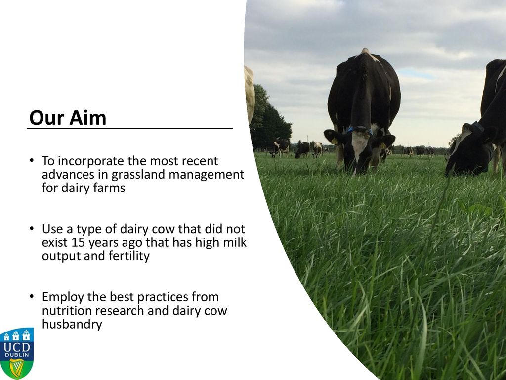 Dairygold Dairy Day th January 2018 Karina Pierce, UCD - ppt download