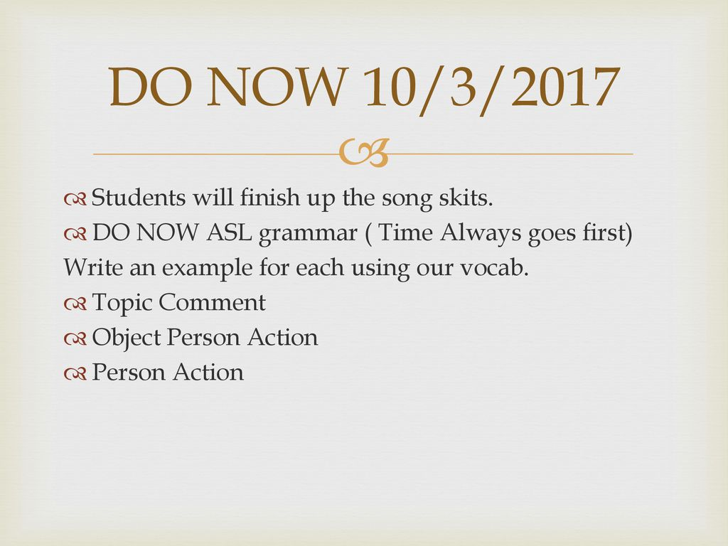 DO NOW 9/29/2017 FRIDAY!! GO PRESENT POSTERS - ppt download