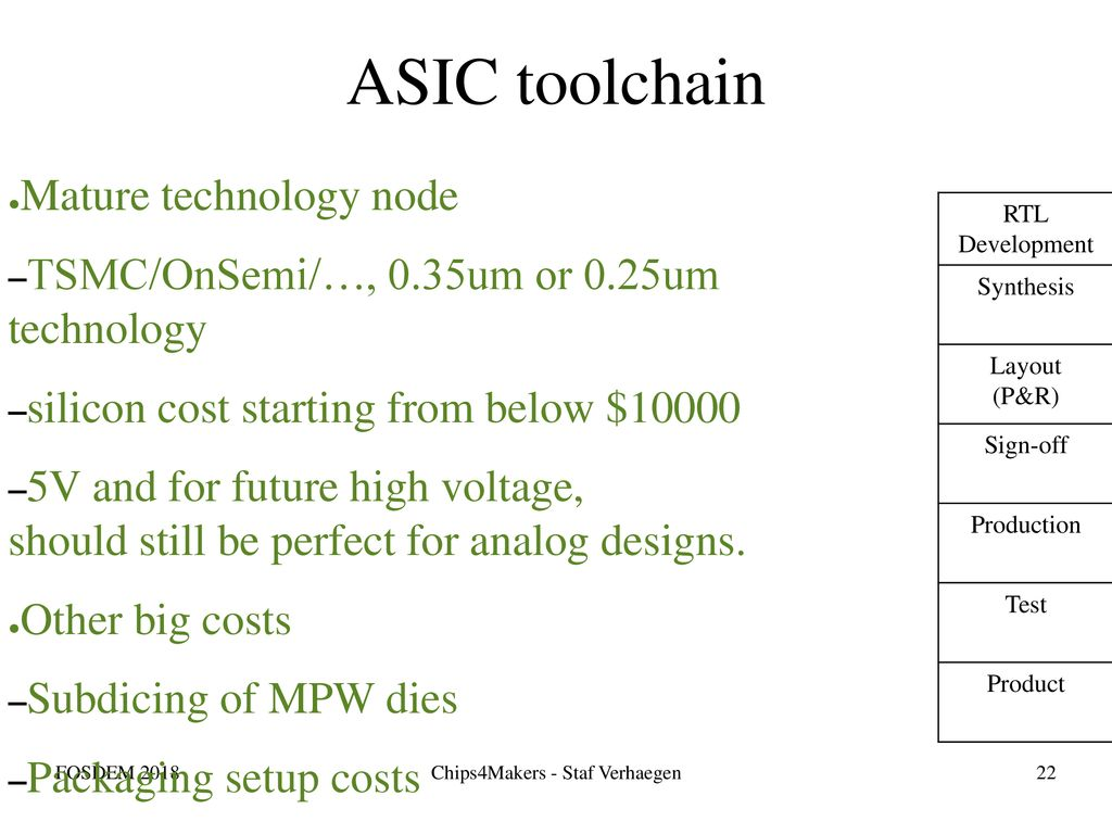 Chips4Makers Toolchain - ppt download