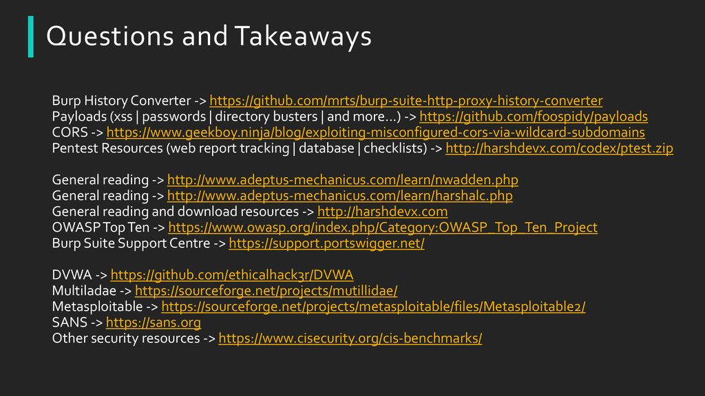 Web Application Penetration Testing - ppt download