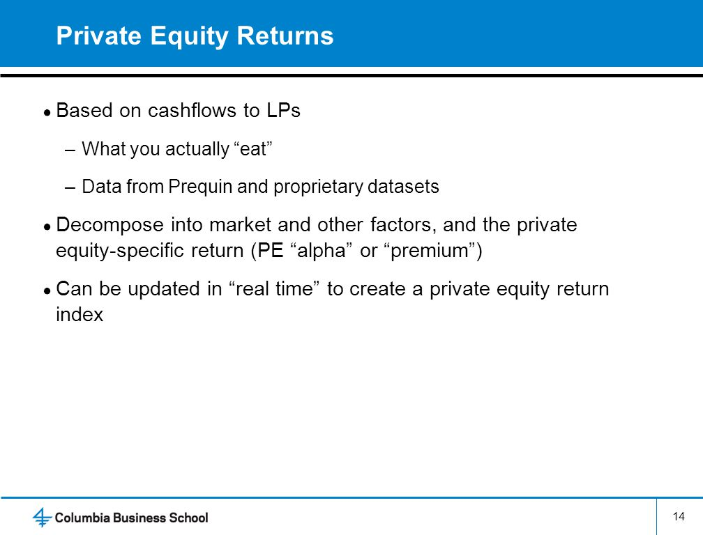 Estimating Private Equity Returns from Limited Partner Cash