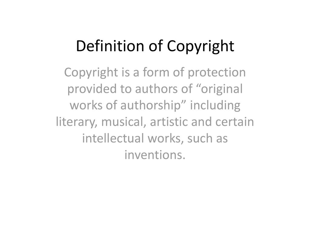 copyright and fair use. - ppt download