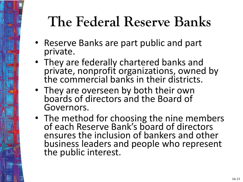 Chapter Sixteen The Structure of Central Banks: The Federal