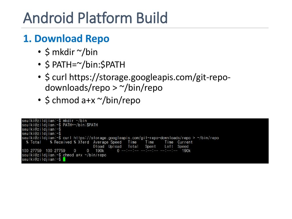 Building Android OS Topics: Building Android and Kernel - ppt download