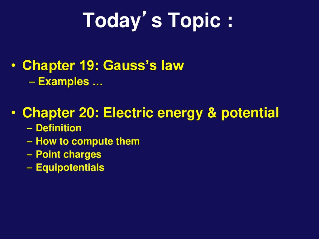 physics 1202: lecture 3 today's agenda - ppt download