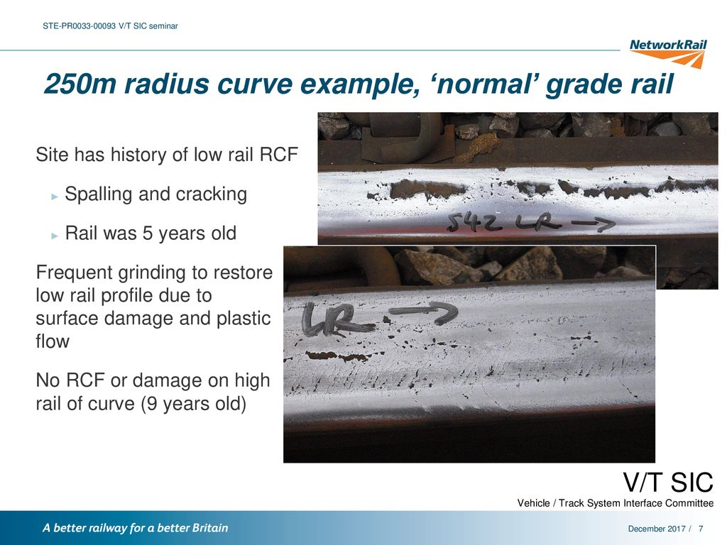 Guidance for rail grade selection - ppt download