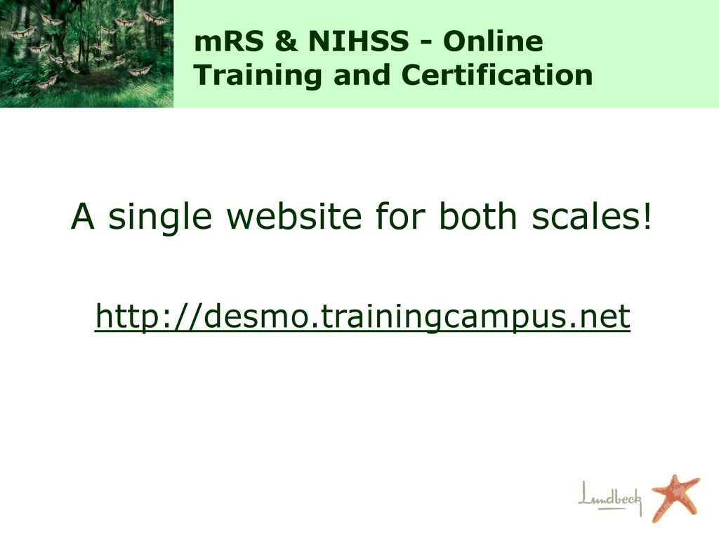 Mrs Nihss Training And Certification Procedure Ppt Download