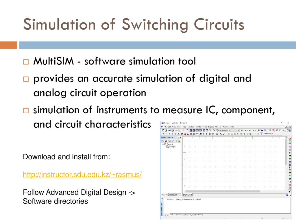 Simulator Electronic Software Download Digital Circuits Simulator