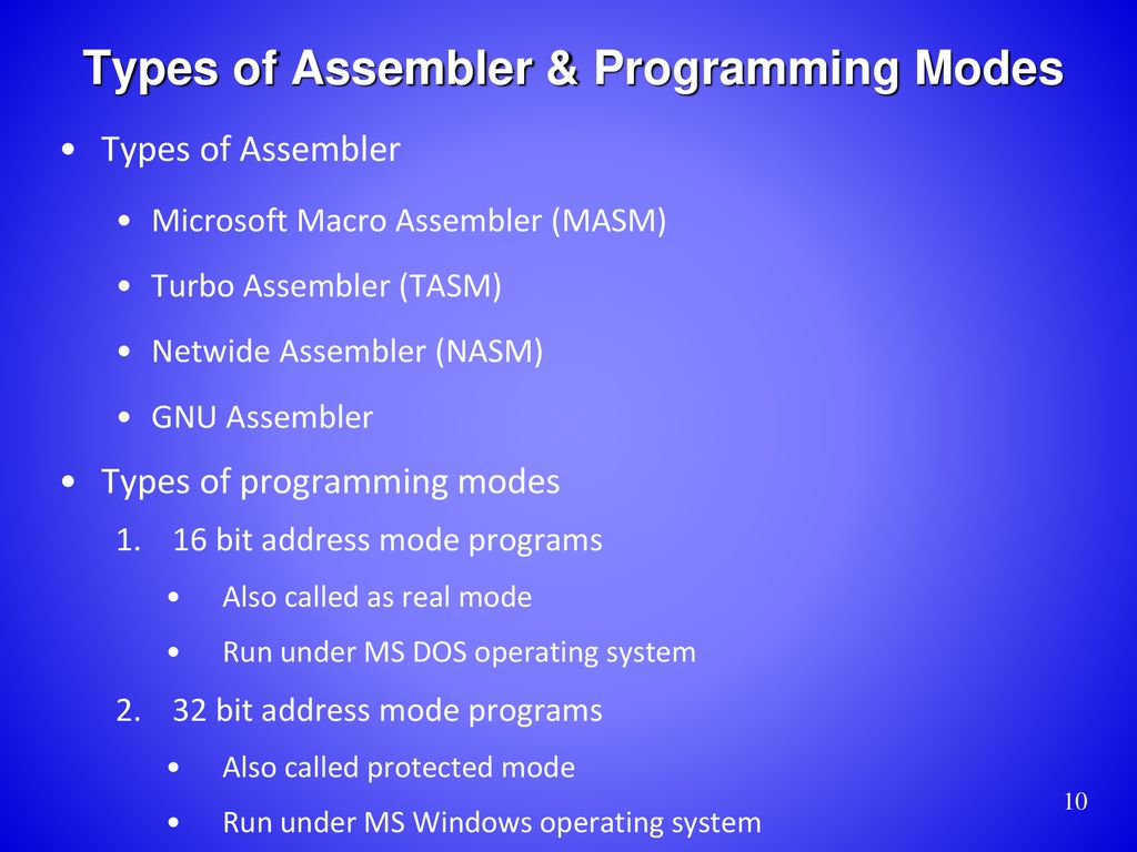 Assembly Language for x86 Processors 6th Edition - ppt download