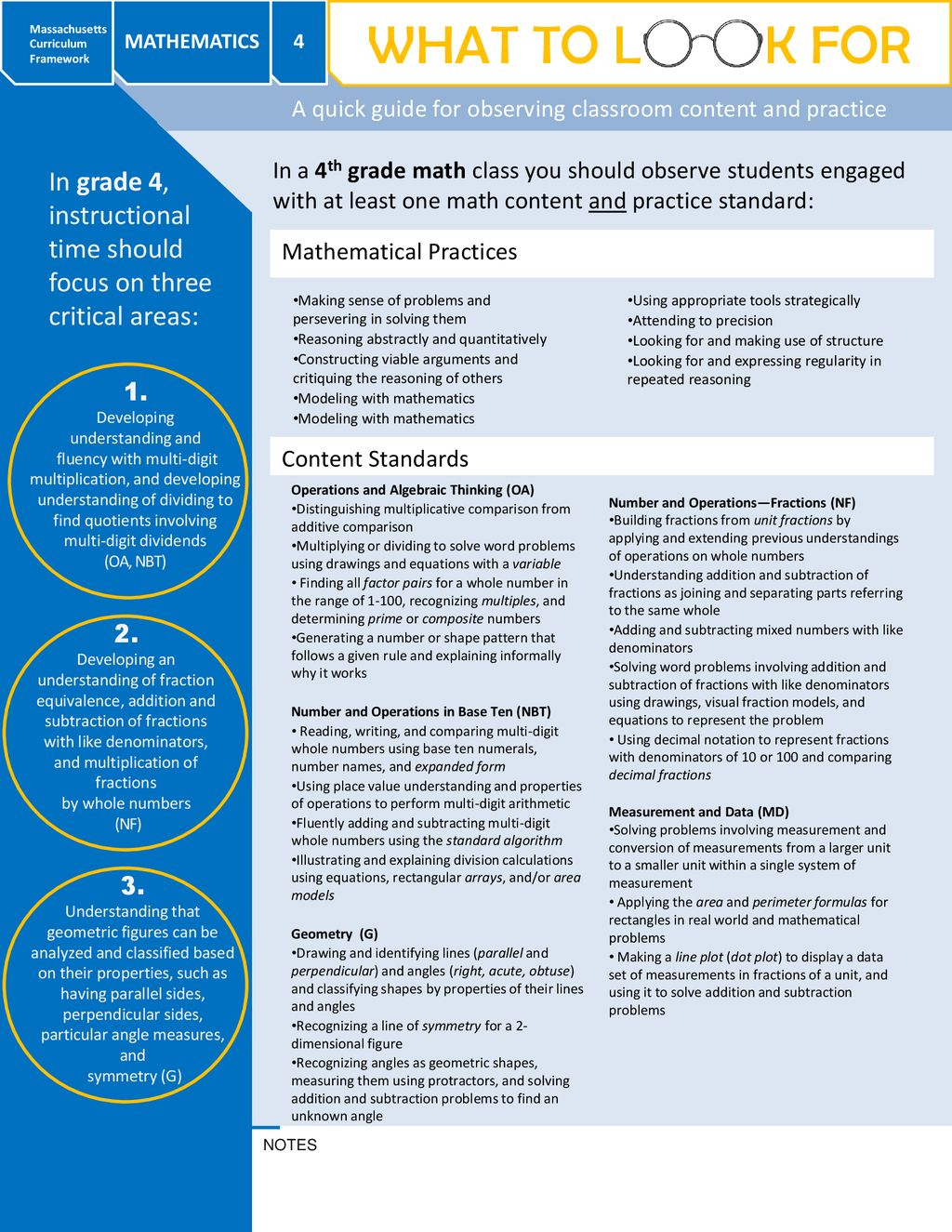 What to Look for Mathematics Grade 4 - ppt download