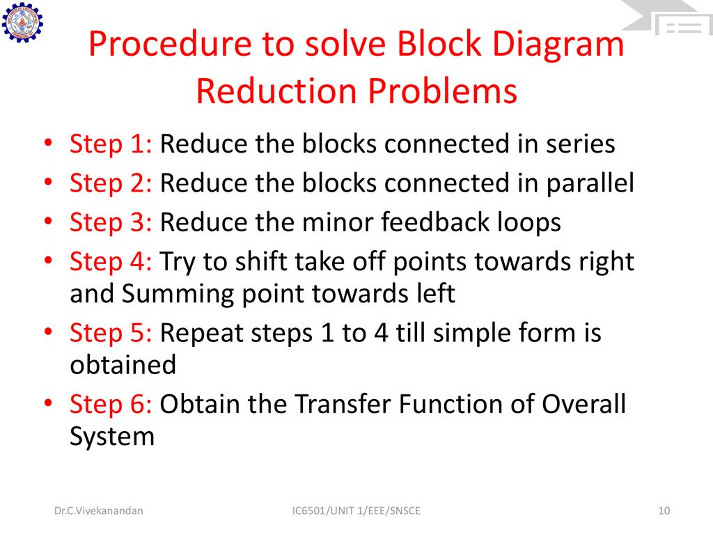 Solve Block Diagram Reduction Tipos De Cancer From Transfer Function Procedure To Problems Solved Find The