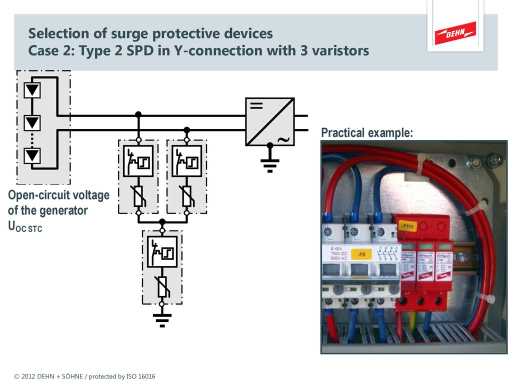 Lightning And Surge Protection According To En Standard Ppt Download Device Wiring Diagram 41 Photovoltaik Seminar Berspannungsschutz Selection Of Protective Devices