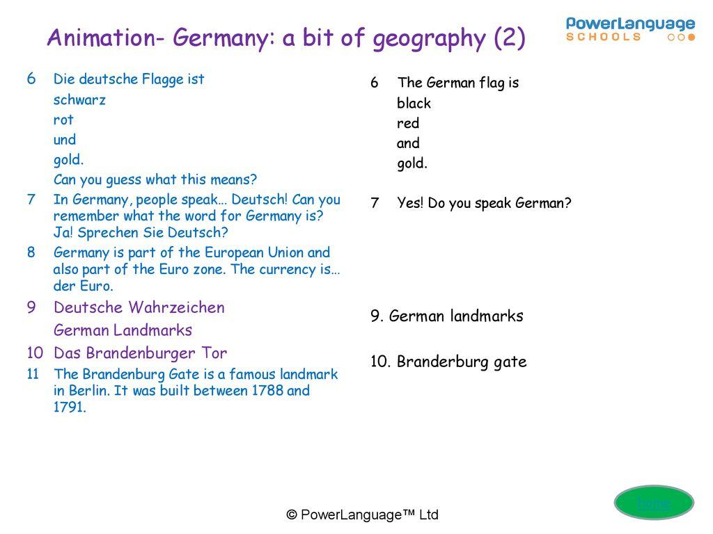 German Culture Hunt Qr Code Activities Ppt Download
