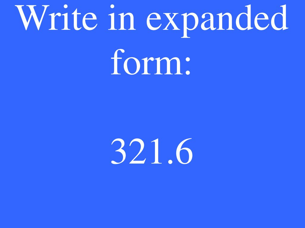 Exponents Word Form to Standard Form Rounding Compare ...