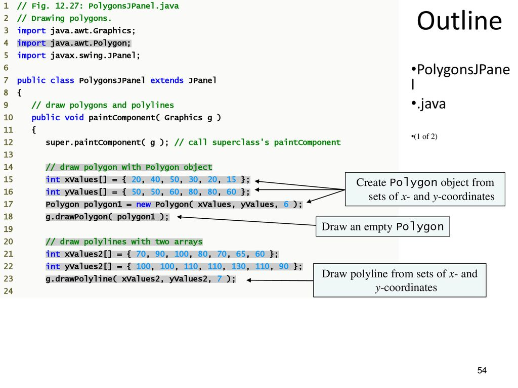 Java 2 Design And Programming Of Gui Ppt Download