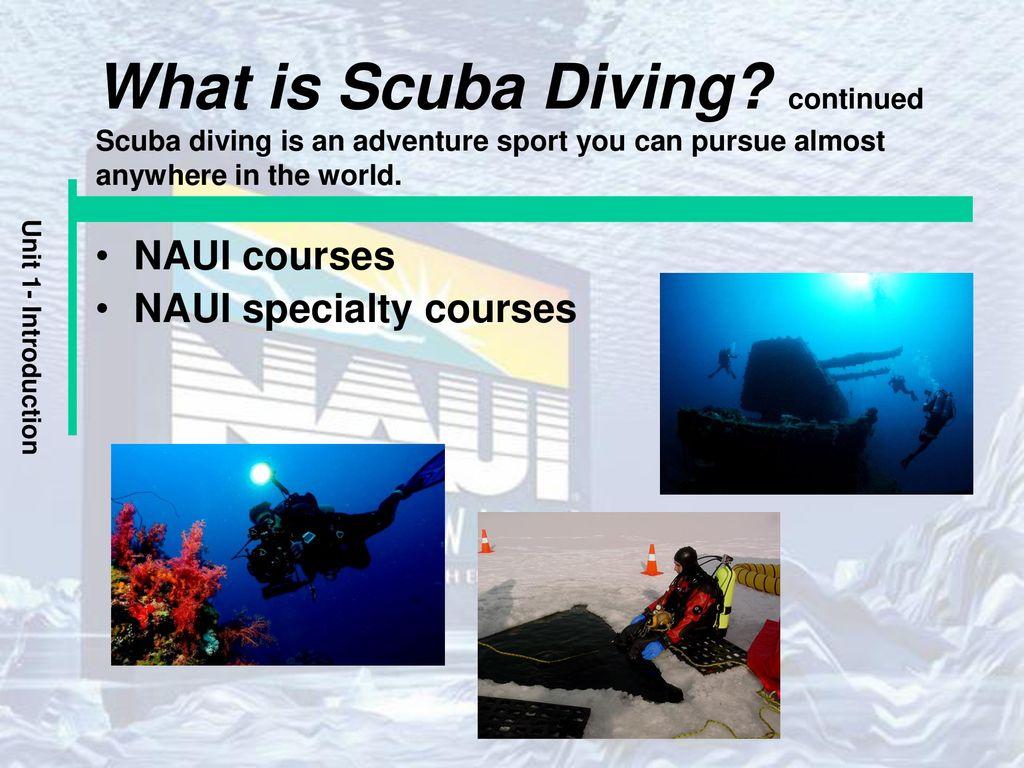 Unit 1 The Naui Scuba Diver Course Ppt Download
