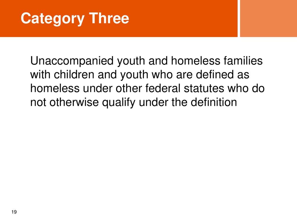 & hearth draft regulations - definition of homelessness michigan