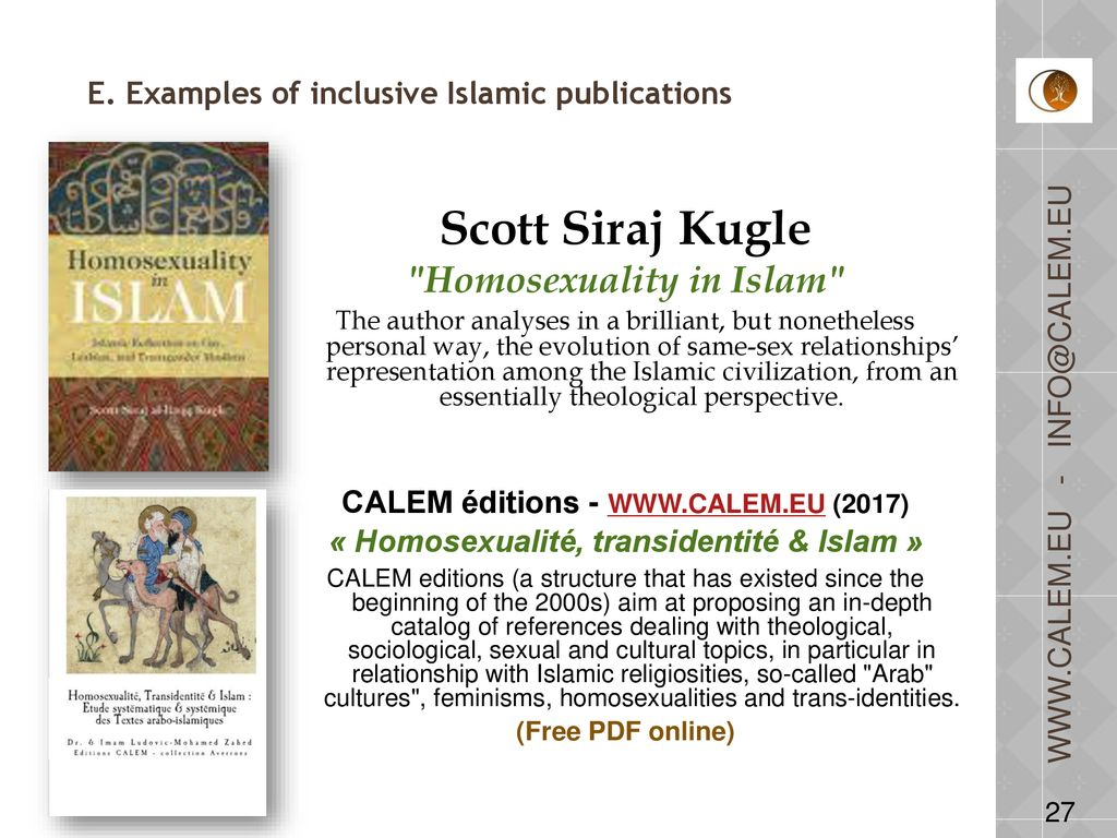 Homosexuality in islam pdf