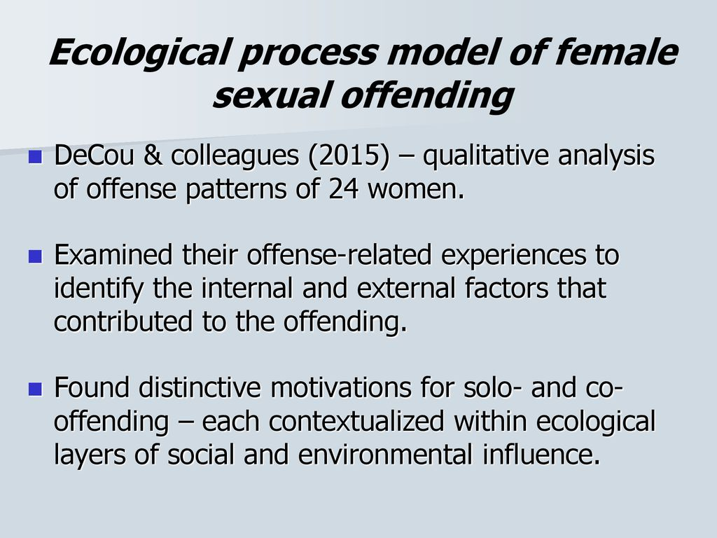 factors that contribute to offending