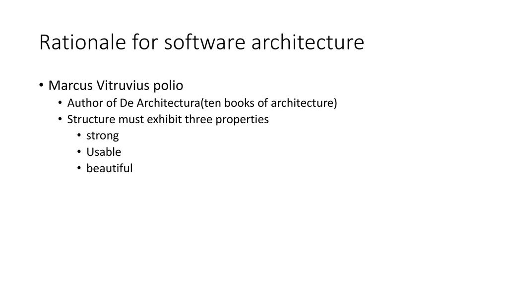 SOFTWARE ARCHITECTURE AND DESIGN - ppt download