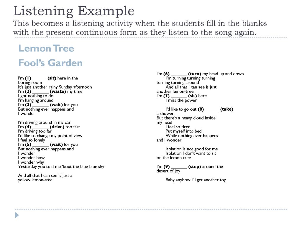 Using Songs in the Classroom - ppt download