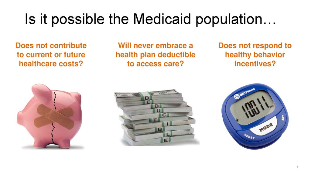 Busting the Myths: CDH Plan Design Within Medicaid - ppt