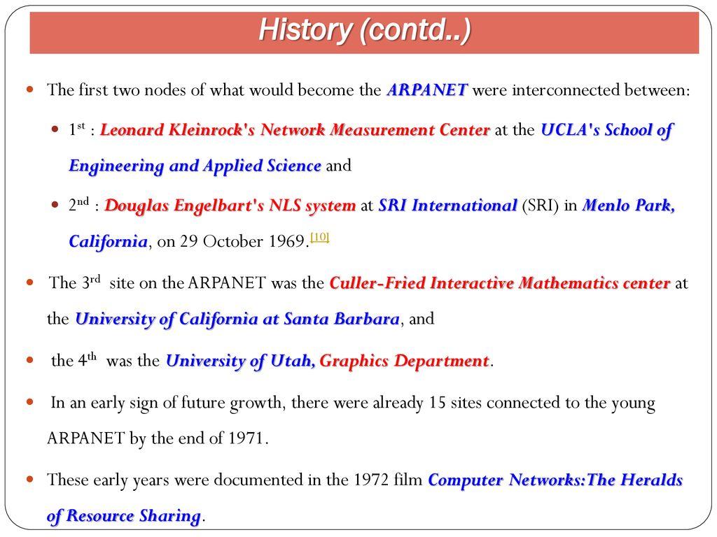 Internet  Use of Internet & Internet Internet The Internet