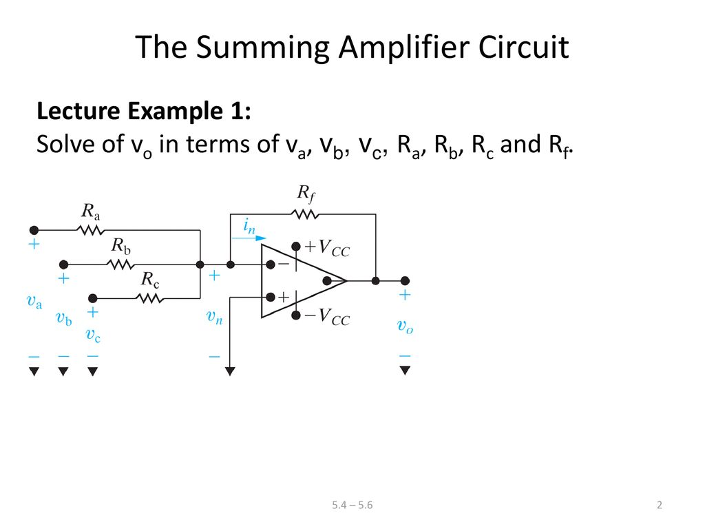 Audio Mixer Circuit Diagram Project Using Operational Amplifier