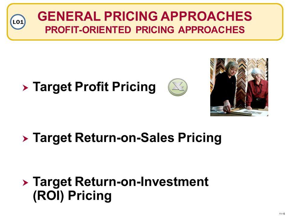 GENERAL PRICING APPROACHES PROFIT-ORIENTED PRICING APPROACHES