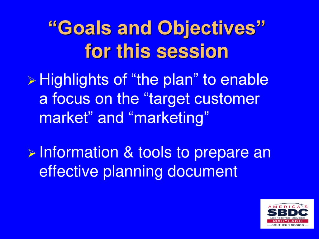 Developing a Business Plan that Supports Strategic Planning