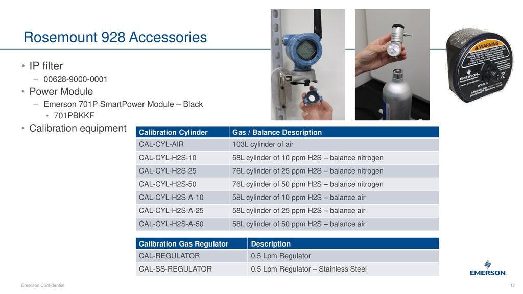 Rosemont 928 Wireless Gas Monitor– How to Specify - ppt download