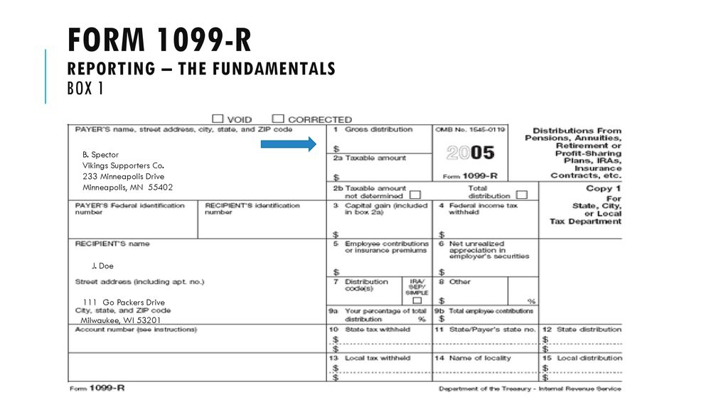 Irs form 9 reporting: 9-r reporting - ppt download