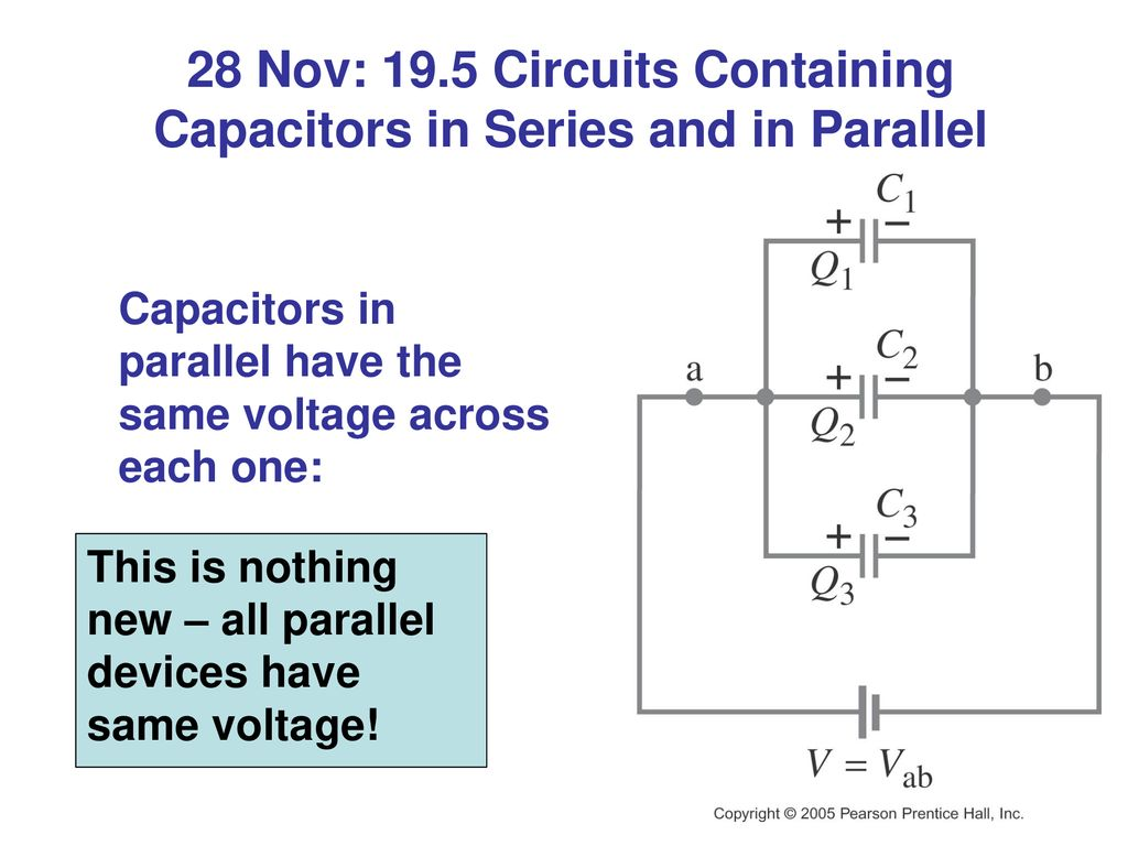 Chapter 19 Dc Circuits Putting Electricity To Work Ppt Download In Parallel And Series 28 Nov 195 Containing Capacitors