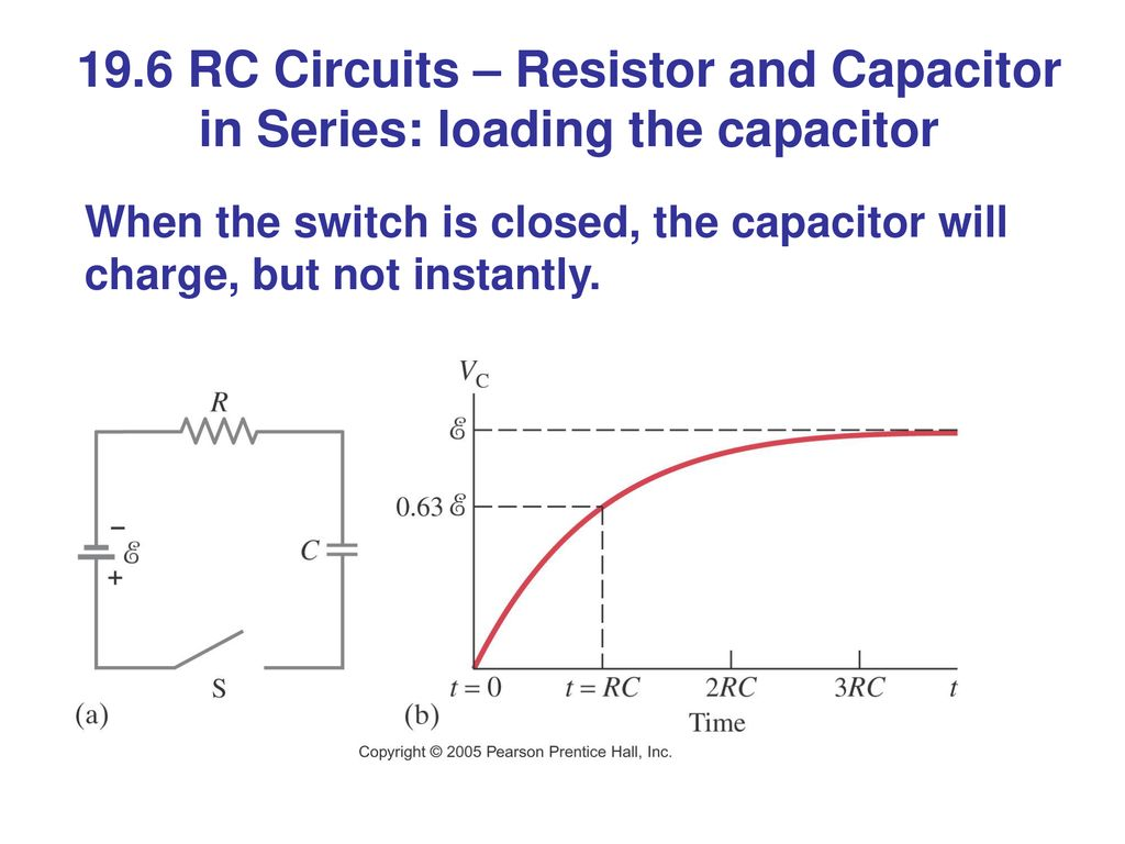 Chapter 19 Dc Circuits Putting Electricity To Work Ppt Download In Parallel And Series 196 Rc Resistor Capacitor Loading The