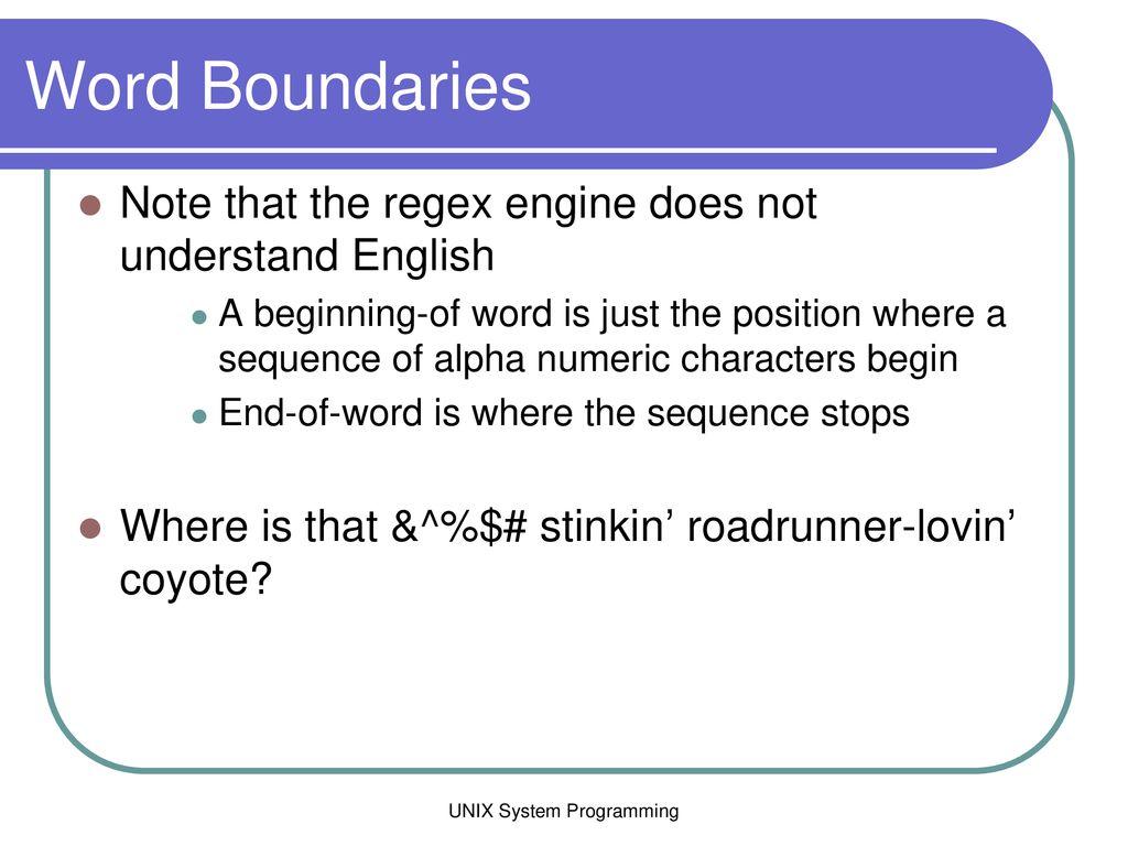 UNIX System Programming - ppt download