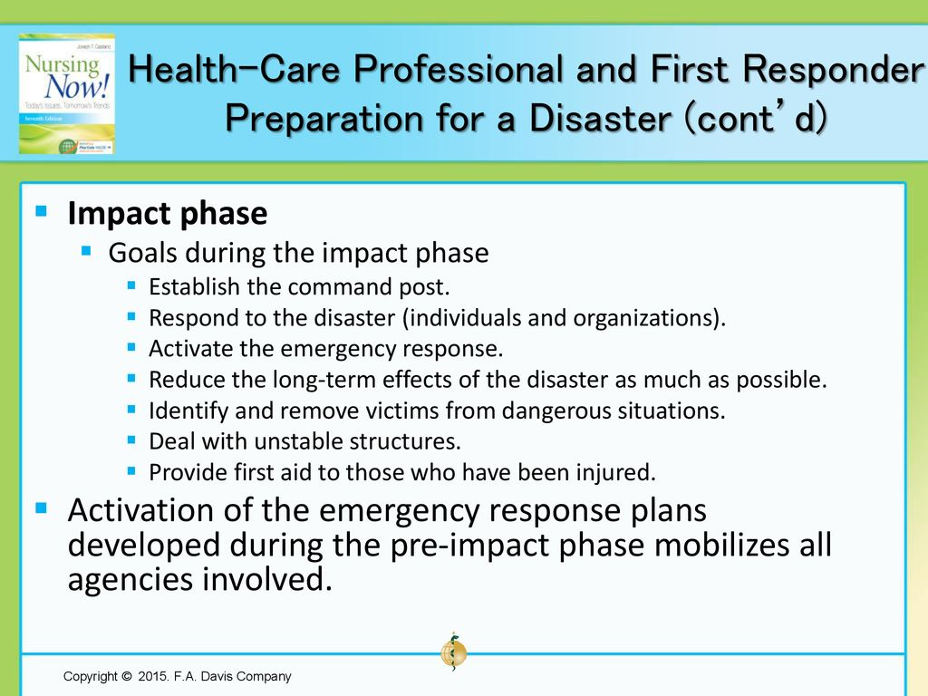 Chapter 26 Preparing For Functioning Effectively In A Disaster Ppt How To Build Whistle Responder Health Care Professional And First Preparation Contd
