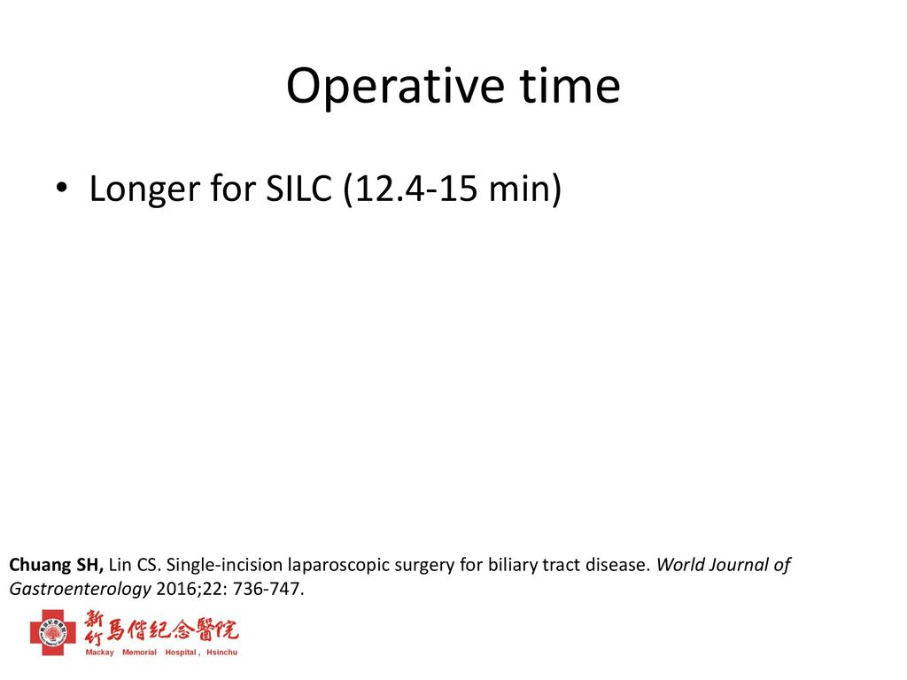 Single-incision Laparoscopic Surgery for the Treatment of