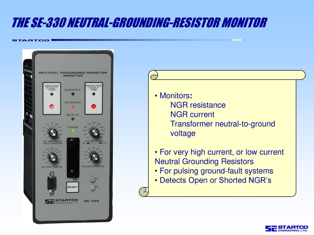 Neutral Grounding Resistor Monitor Ppt Download Transformer Wiring Diagram The Se 330