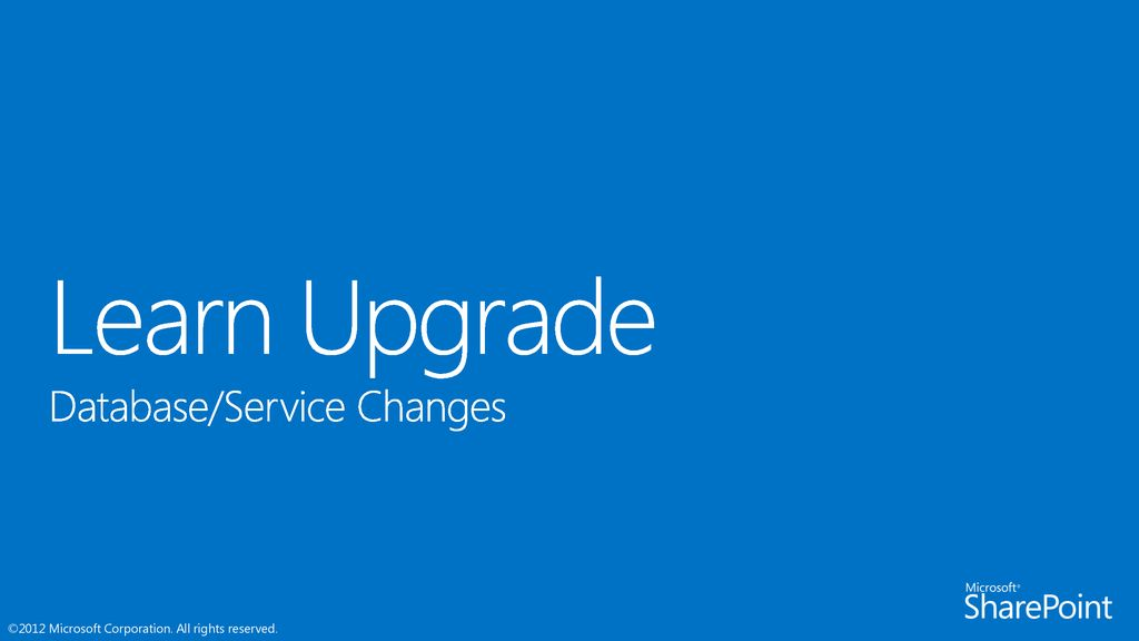 Learn Upgrade Speaker name Title Microsoft corporation 9/16/ ppt