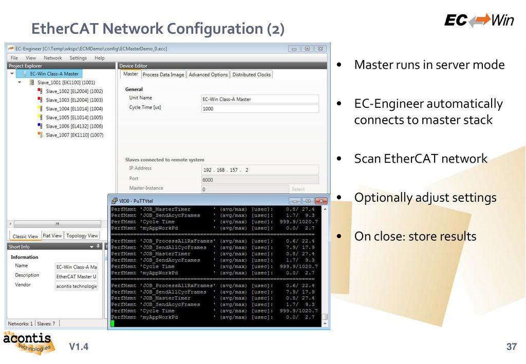 Windows EtherCAT® Real-Time Platform - ppt download