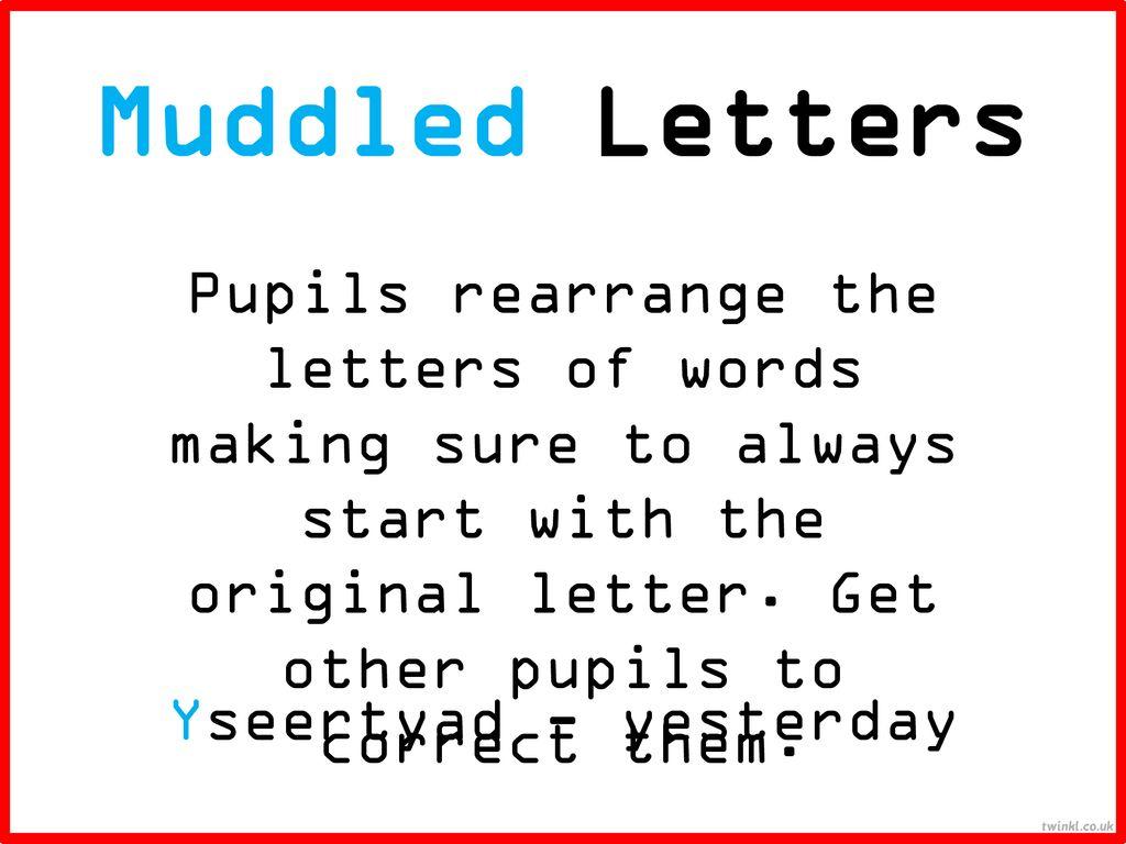 Spelling Strategies Ppt Download