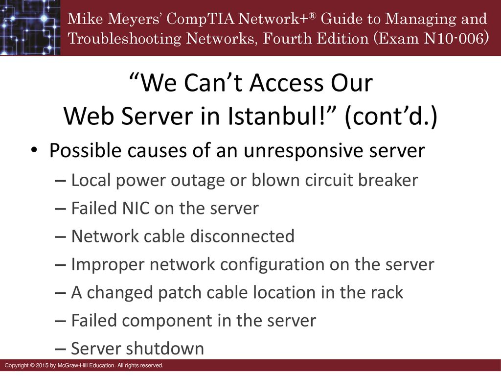 Network Troubleshooting Ppt Download Power Eop Most Commonly Using Pairs Of Powerline Adapters We Cant Access Our Web Server In Istanbul Contd