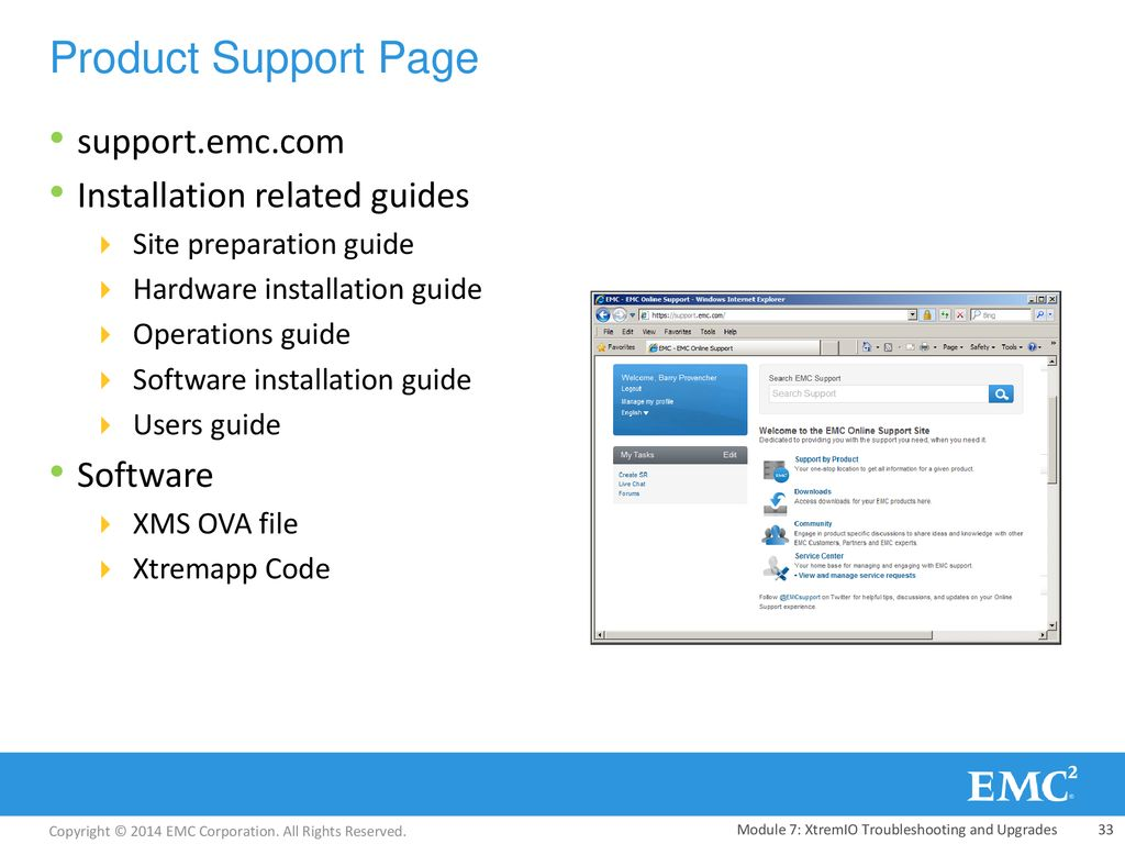 Module 7: XtremIO Troubleshooting and Upgrades - ppt download