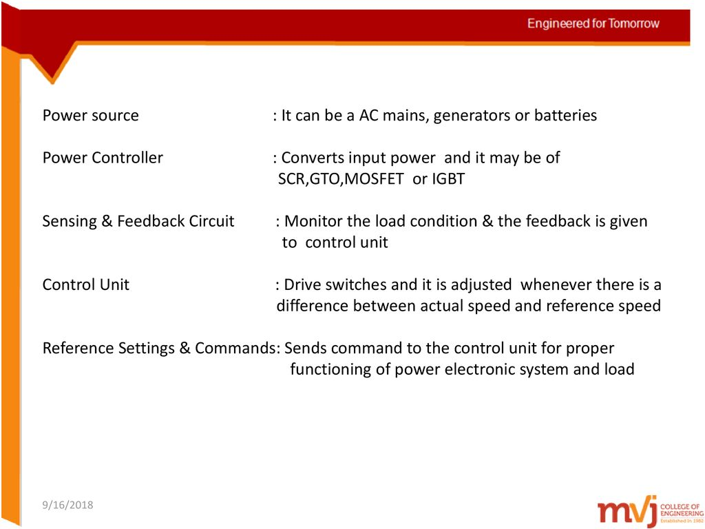 Subject Name Power Electronics Code 10ec73 Ppt Download Mos Controlled Thyristor Mct Electronic Circuits And Diagram 9