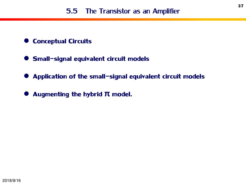 Bipolar Junction Transistor Bjt Ppt Download Ideas Circuit Of Small Amplifiers 55 The As An Amplifier